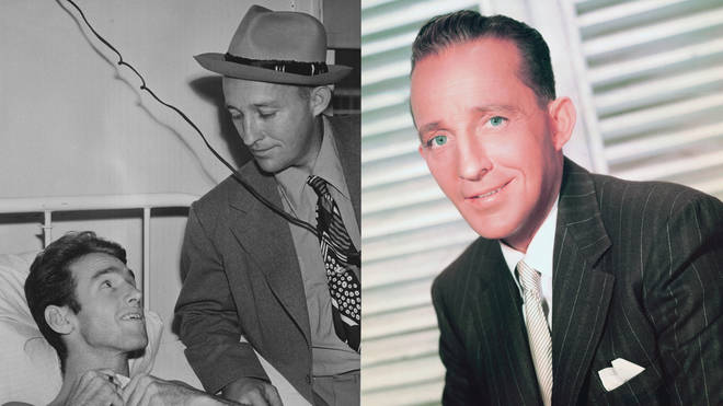 Bing Crosby's letters and photos from WWII have been released