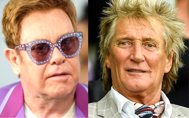 Elton John and Rod Stewart 'not talking' after 'spat' over farewell tour