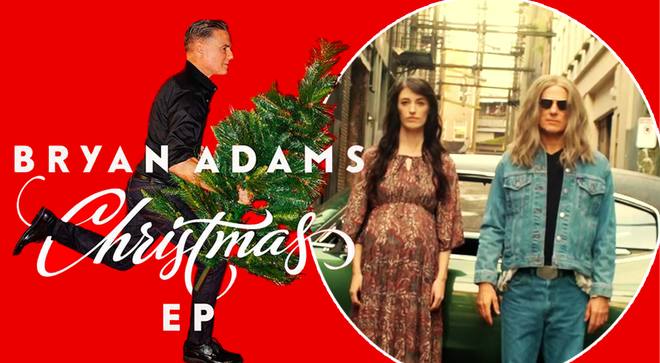 Bryan Adams shares new video for Christmas song 'Joe and Mary'