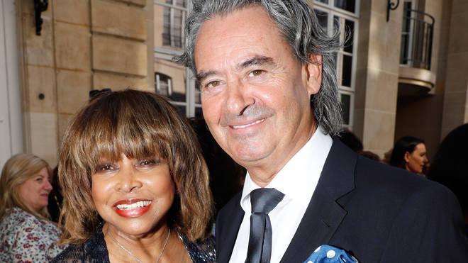 Tina Turner and husband Erwin