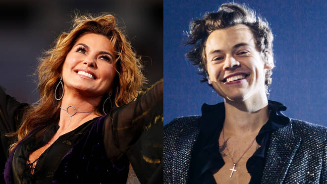 Shania Twain and Harry Styles could be recording music together