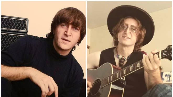 John Lennon tribute act Javier Parisi